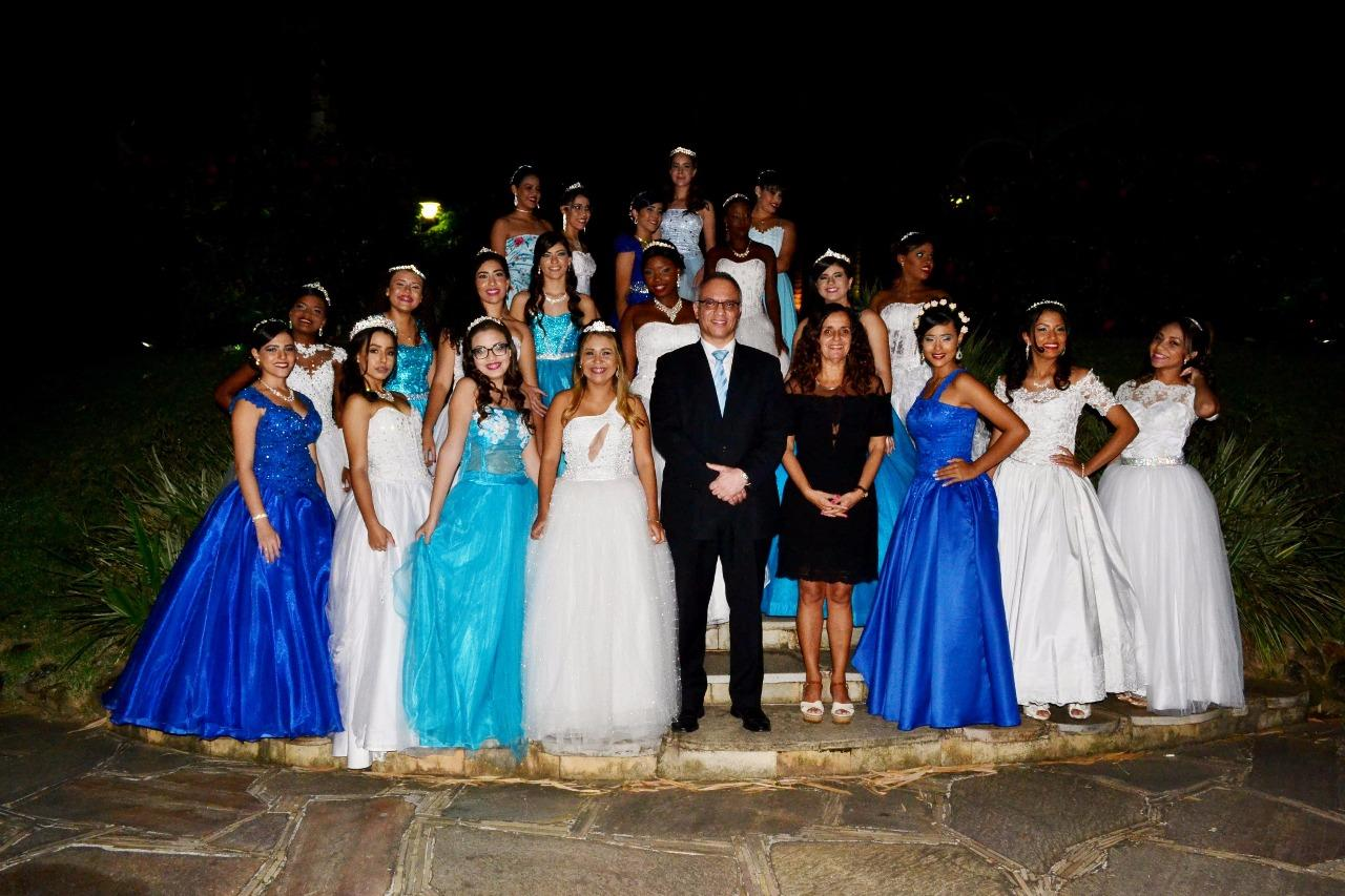 Projeto Sonho Azul - Nossa debutantes se divertiram pra valer!!!!