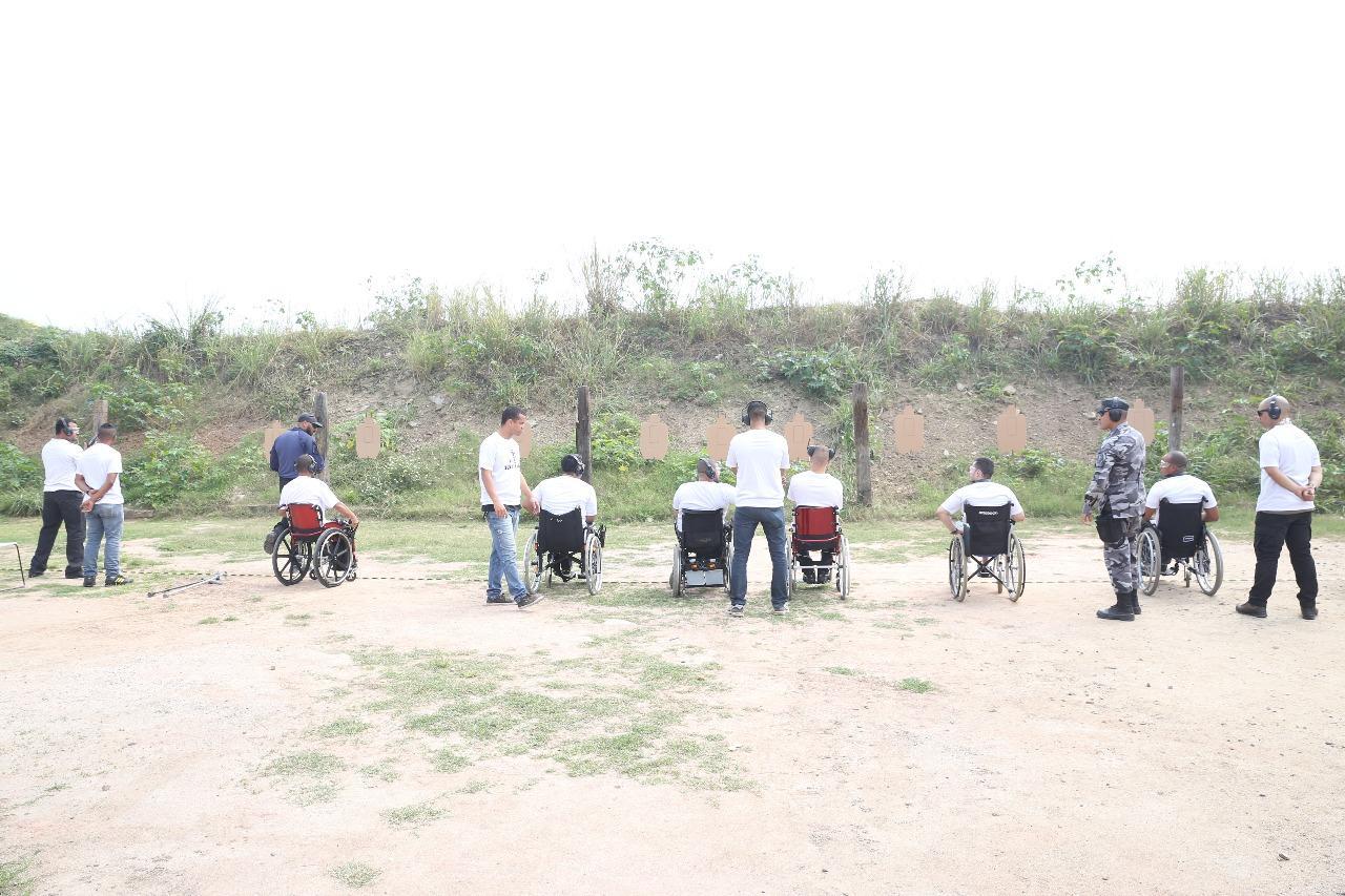 2ª Instrução de Tiro Adaptado para Policiais Cadeirantes