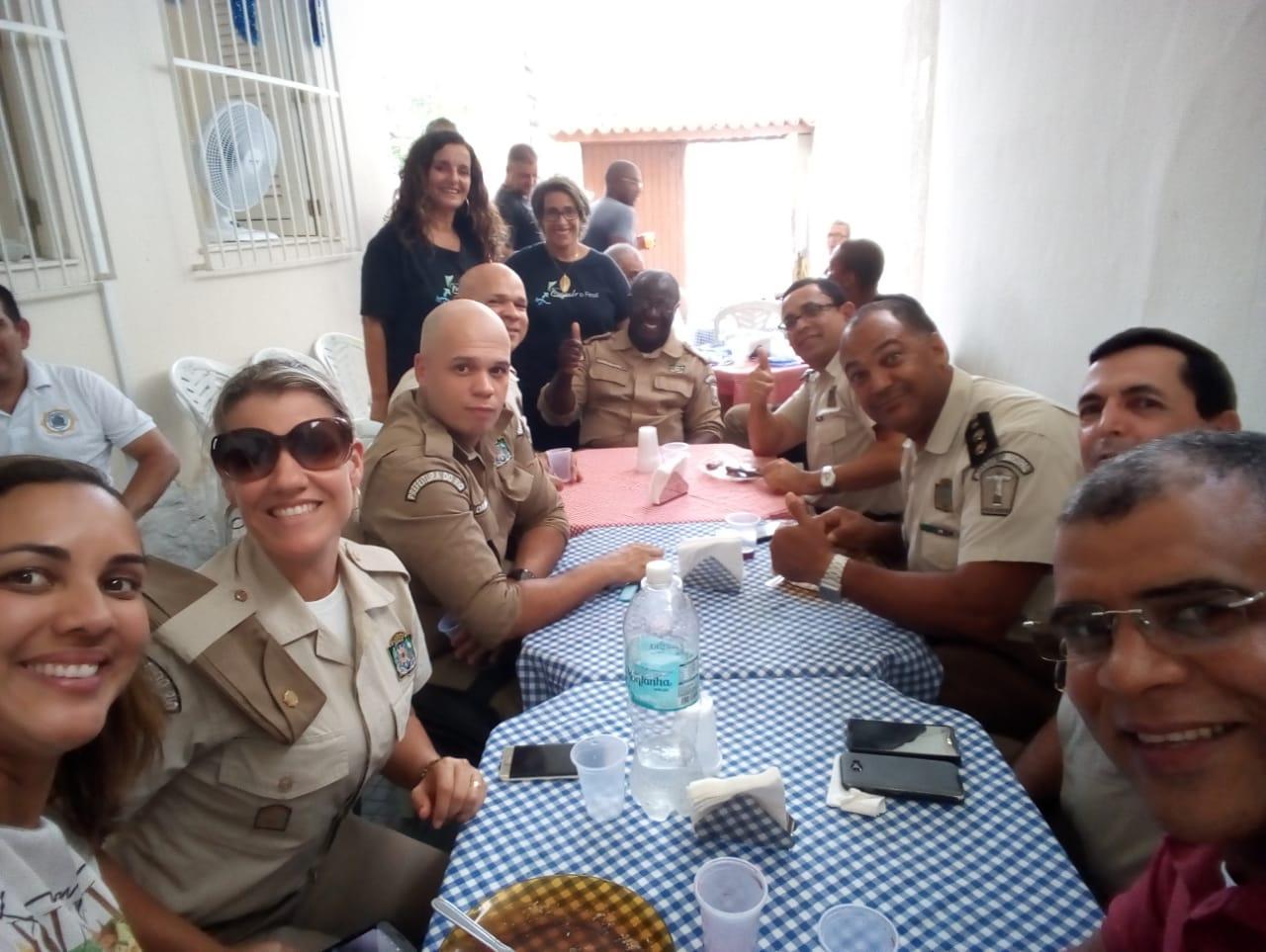 Guardas Municiais são homenageados pelo Instituto Mudando o Final com presença do Diretor de Operações