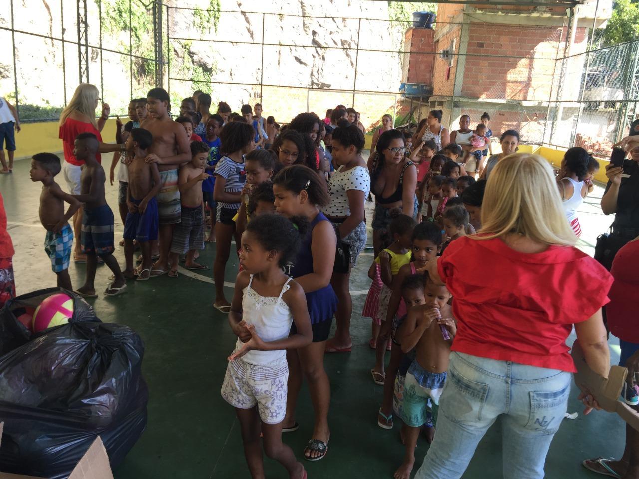 Natal Solidário - UPP Providência