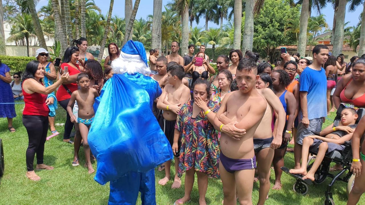 Campanha Natal Azul Inclusivo 2020
